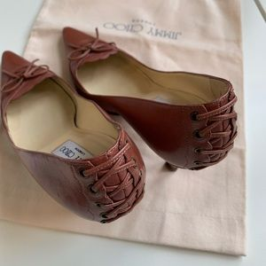 Authentic JIMMY CHOO Heather pumps